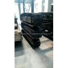 Стальная резиновая гусеница Гусеничная ходовая часть, запасная часть, гусеничная система шасси от 0,5 до 120 тонн для горных работ