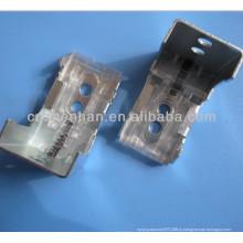 Компоненты римской шторы - Металлический навесной кронштейн или монтажный кронштейн для шторной трубки / рельса / гусеницы, римский кронштейн для навесного оборудования