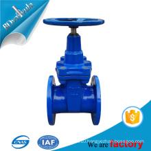 Sluice valve DIN gate valve cast ductile iron PN10 PN16 DN80