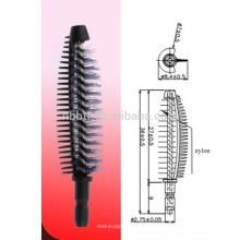 Silicona de moda widly utilizado cepillo de rimel
