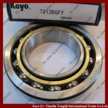 Rodamiento de bolitas de contacto angular 7212 KOYO