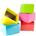 Met Lint European Wedding Triangle Floral Paper Box