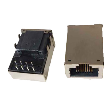 RJ45 1X1 PORT MIT TRANSFORMATOREN 10-100 BASE-T