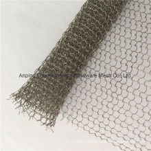 Amazon Low Price Stainless Steel Knitted Mesh Fabric China Wholesale