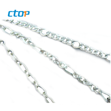 Hot sell metal nickel link chain decorative fashion metal chains for bag