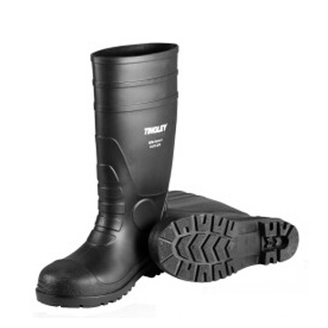 Professional PVC Industrial Steel-Toe Worker Safety Rain Boots