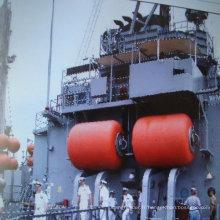 Fender de remplissage de mousse utilisé pour la protection de la jetée et le navire amarré