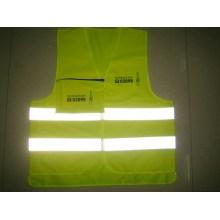 Светоотражающий светодиодный защитный жилет с CE En13356 для спорта