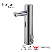 Haijun Wholesalers China Pull Down Water Saving Automatic Sensor Devices Faucet Taps