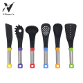 Nylon Utensil Set Metall PP Griff