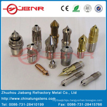 Plastic Mold-Injection Nozzle Tips with High Heat Conductivity