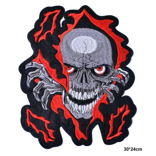 Lustige Stickerei Military Patch Full Appliques