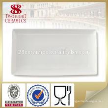 Chinaware high quality dish stoneware plate custom printed plates