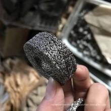 Hochfester 6 6.5 10MM zylinderförmiger Edelstahl-Kupfer komprimierter gestrickter Maschenfilter für Airbag-Schlacke
