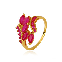 Xuping elegante anel sintético CZ