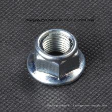 Porca de trava de inserção de flange de aço carbono (CZ009)