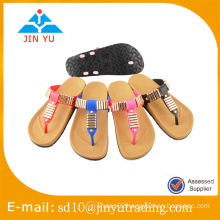 China factory price beautiful and simple style lady sandal