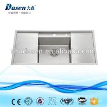 DS10050B горячие продажа Royal из нержавеющей стали встройной ручной работы производители кухонной мойки