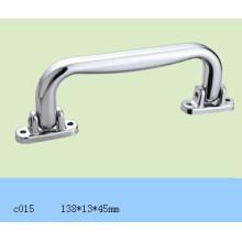 Silver Plastic Handle for Light Aluminium Case C015