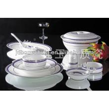 royal and heavy gold bone china tableware