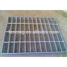 grilles de drainage de route en acier galvanisé / caillebotis en acier
