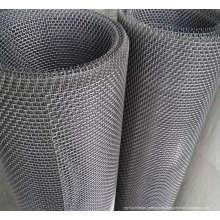 Malla de alambre prensado para filtro / tamizado / mina de carbón