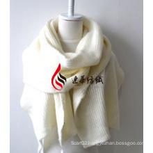 Acrylic Knitted Shawl (12-BR201812-6)