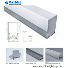 Profil LED en aluminium pour type pendentif 3562