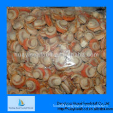 High quality frozen seafood scallop iqf