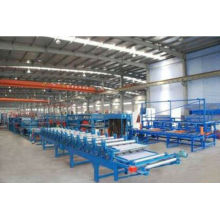 Full Automatic Mineral Wool Sandwich Panle Production Line