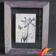 Luckywind Shabby e Vintage moldura de madeira
