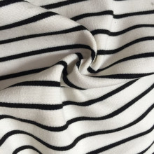 White black Nylon Roma fabric