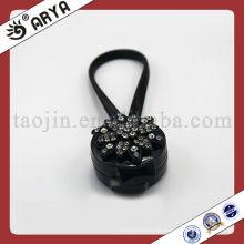Schwarzer Vorhang Magnetische Clips Mit Diamant Dekorative Blume Für Clip Dekorative Vorhang
