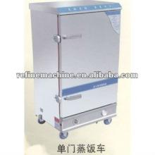Máquina elétrica luxuosa do arroz do vapor / steaming carros