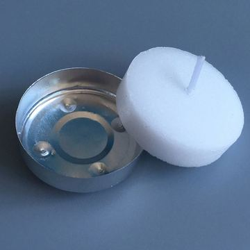 Dekorationer Vit Tealight Candle Tea Light Candle