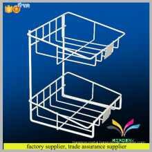 Online retail store metal durable fruits and vegetables display shelf
