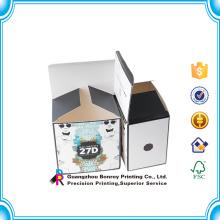 Ламинированный цветной бумаги рукав мыло бумажная коробка