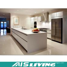 Mejores gabinetes de cocina baratos de alta calidad del nuevo diseño de la venta con la puerta de madera (AIS-K985)
