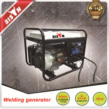 BISON(CHINA)5kw BS6500WG gasoline generator set welding