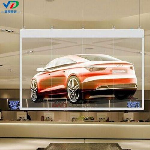 High Quality P3 9 Glass Wall Led Display