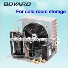 congélateur à plaques horizontales avec réfrigération R404A 2 unités de condensation à compresseur HP