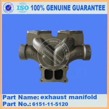 Komatsu HD465-7 manifold 6240-11-5240 dump truck parts