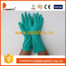 Green Nitrile Industry Gloves DHL446