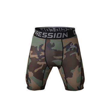 Shorts de Sports populaires Design Camouflage Compression Mens