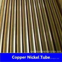 CuNi 70/30 Tubo de cobre níquel sin costuras