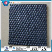 Anti-Slip Cow Rubber Mat, Rubber Stable Mat, Dairy Stall Mat Cloth Insertion Rubber Sheet Roll