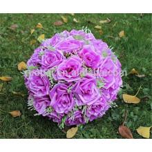 wholesale Hydrangea artificial rose ball artificial silk hanging flower ball for wedding decor