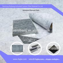 Filtro de ar de carbono ativado pano de filtro de ar de carbono Pano de filtro de ar de carbono