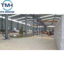 Atelier de montage rapide Structure métallique industrielle d'atelier