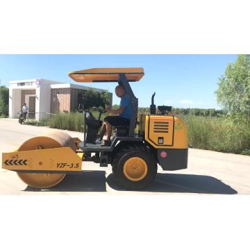 Gummirad Mini Road Roller Vibration